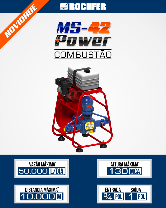 bomba ms power 42 combustao